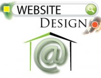 Website design home graphic