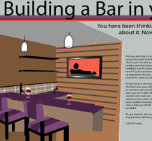 <span style='color:#fff'>Instructional landing page on how to build a bar in your house showing different design decisions.</span>&#8221; title=&#8221;Build a Bar&#8221;>