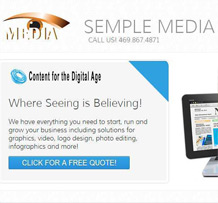 <span style='color:#fff'>Solution for media content such as graphics, video, logo design, photo editing, and infographics</span>&#8221; title=&#8221;Semple Media Content&#8221;>